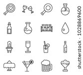flat vector icon set   find... | Shutterstock .eps vector #1028869600