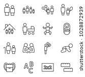 flat vector icon set   man and... | Shutterstock .eps vector #1028872939
