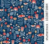 decorative seamless pattern of... | Shutterstock .eps vector #1028873884