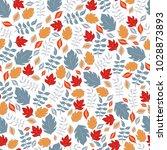 decorative seamless pattern of... | Shutterstock .eps vector #1028873893