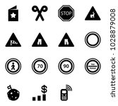 solid vector icon set   star... | Shutterstock .eps vector #1028879008