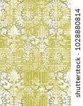 modern  grunge  damask colorful ... | Shutterstock . vector #1028880814