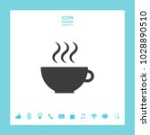cup with steam | Shutterstock .eps vector #1028890510