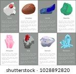 garnet carnelian lazurite... | Shutterstock .eps vector #1028892820