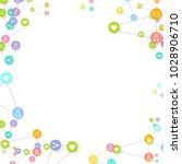social media marketing ... | Shutterstock .eps vector #1028906710
