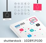 linear arrow icons. set of... | Shutterstock .eps vector #1028919100
