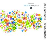 abstract background with... | Shutterstock .eps vector #1028921440