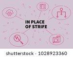 business illustration showing... | Shutterstock . vector #1028923360