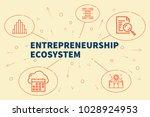 business illustration showing... | Shutterstock . vector #1028924953
