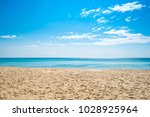 tropical sea in summer. | Shutterstock . vector #1028925964