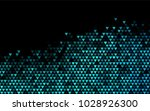 dark blue vector abstract... | Shutterstock .eps vector #1028926300
