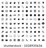 web icons set | Shutterstock .eps vector #1028935636