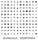 web icons set | Shutterstock .eps vector #1028935654