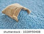 chemical fertilizer in gunny... | Shutterstock . vector #1028950408
