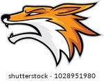 fox head mascot  vector...   Shutterstock .eps vector #1028951980
