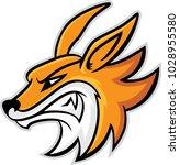 fox head mascot  vector...   Shutterstock .eps vector #1028955580