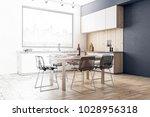 creative modern kitchen... | Shutterstock . vector #1028956318