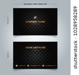creative business card and name ...   Shutterstock .eps vector #1028958289