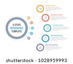 infographic template with five... | Shutterstock .eps vector #1028959993
