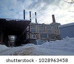 a abandoned old factory | Shutterstock . vector #1028963458
