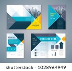 cover book design set  abstract ... | Shutterstock .eps vector #1028964949