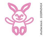 cute little bunny sitting...