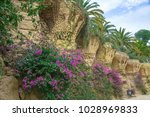 barcelona  spain   feb 3  view... | Shutterstock . vector #1028969833