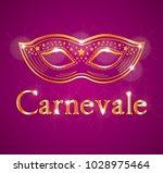 italian carnival vector... | Shutterstock .eps vector #1028975464