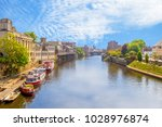 landscape of york by the... | Shutterstock . vector #1028976874