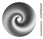 concentric circles  concentric... | Shutterstock .eps vector #1028980609
