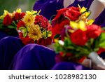 beautiful wedding bouquet | Shutterstock . vector #1028982130