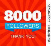 8000  eight thousands ...   Shutterstock .eps vector #1028984290