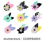 "card with bird ""hello summer""   Shutterstock .eps vector #1028986804"