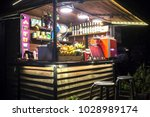 street food festival | Shutterstock . vector #1028989174