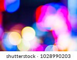 bokeh abstract defocused of... | Shutterstock . vector #1028990203
