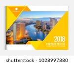 business brochure cover design... | Shutterstock .eps vector #1028997880