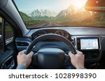 relaxing car ride through...   Shutterstock . vector #1028998390