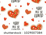 hand drawn vector abstract... | Shutterstock .eps vector #1029007384