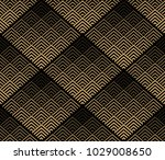 abstract geometric pattern.... | Shutterstock .eps vector #1029008650