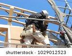 new construction  framework | Shutterstock . vector #1029012523
