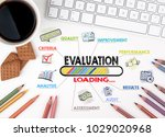 evaluation  business concept.... | Shutterstock . vector #1029020968