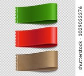 colorful labels set transparent ... | Shutterstock .eps vector #1029033376
