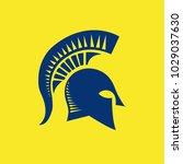 warrior logo vector | Shutterstock .eps vector #1029037630