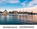 stockholm sweden   jan 18  2016 ... | Shutterstock . vector #1029044443