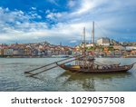 rabelo  traditional boat with... | Shutterstock . vector #1029057508