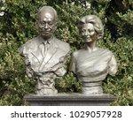 vaduz  liechtenstein   june 02  ... | Shutterstock . vector #1029057928