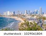tel aviv  israel   april  2017  ... | Shutterstock . vector #1029061804