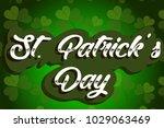 st. patricks day holiday...   Shutterstock .eps vector #1029063469
