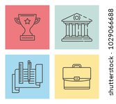 creative workshop concept | Shutterstock .eps vector #1029066688
