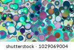 circles abstract style colorful ... | Shutterstock . vector #1029069004